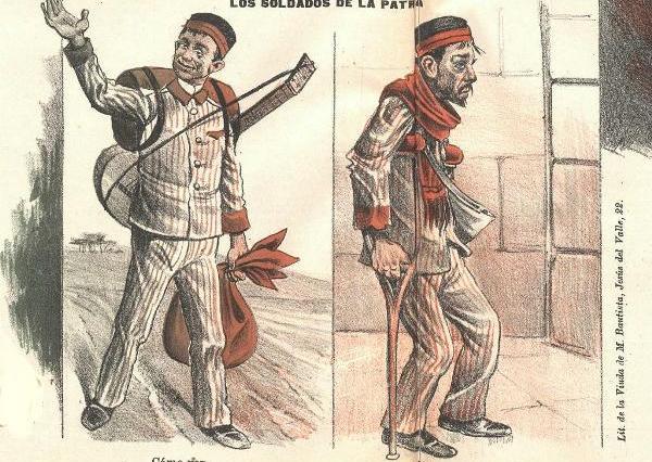 Chiste de la revista Don Quijote (1898)