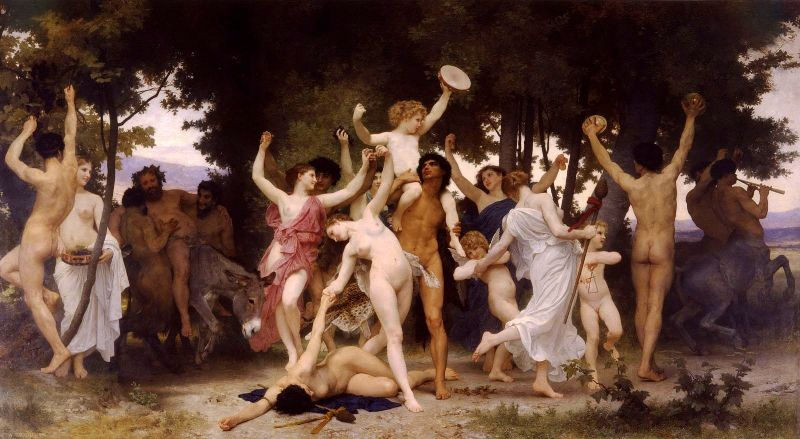 William Bouguereau: Saturnales