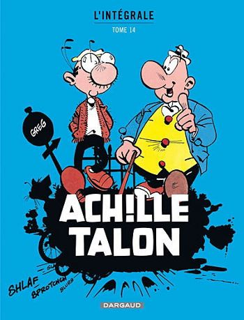 Aquiles dando la brasa a Funestini en la portada del nº 14 de la edición francesa