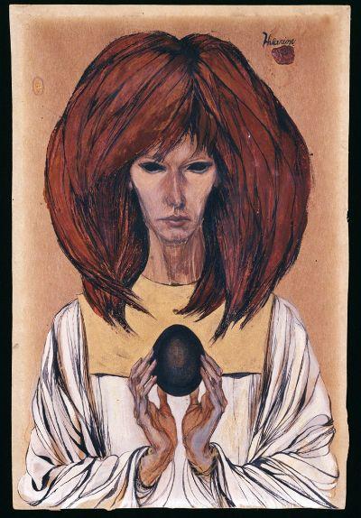 Marjorie Cameron: Black Egg. Foto: Cameron Parsons Foundation
