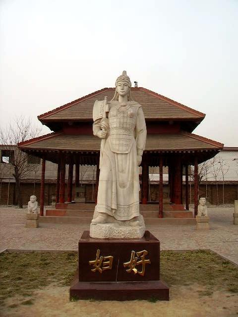 Estatua de Fu Hao en Yinxu
