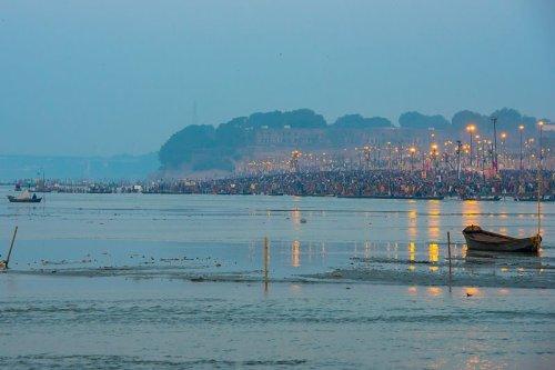 Sangam, Allahabad, 2013. Foto: Lokankara