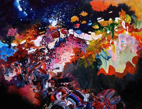 Karma Police, Radiohead (2015). Acrílico sobre lienzo. © Melissa S. McCracken.