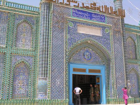 mazar sharif blue mosque
