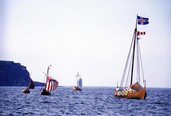 Desembarco vikingo. Foto: Joyce Hill, Wikipedia.
