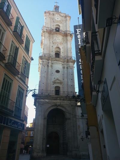 Iglesia de San Juan, Málaga. Foto: futuropasado.com