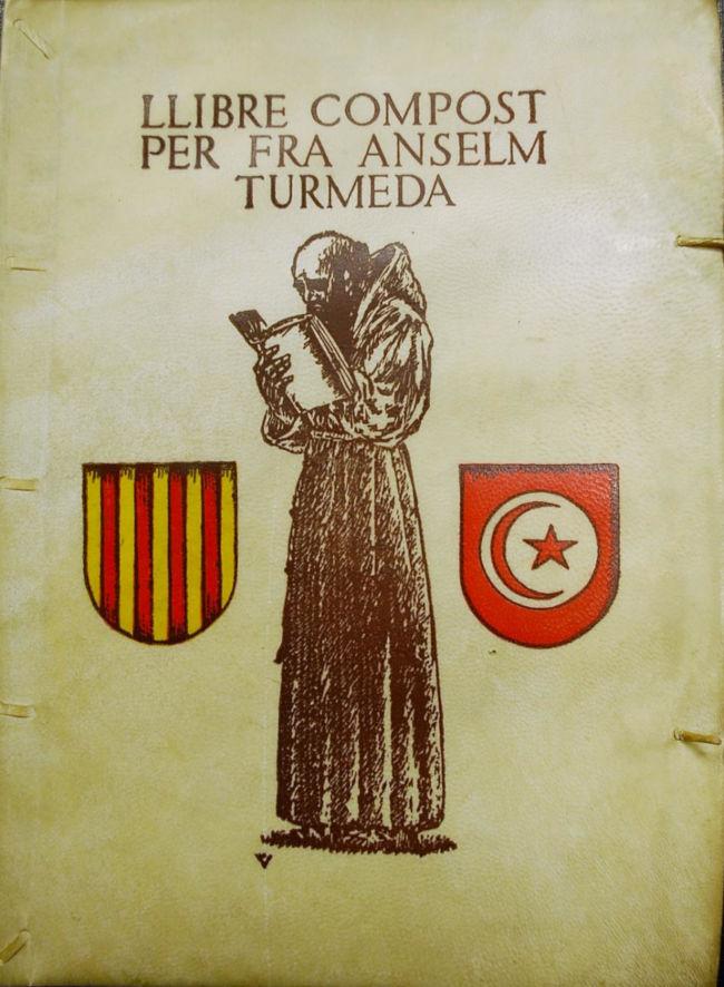 Llibre Compost Per Fra Anselm Turmeda, edición de 1947.