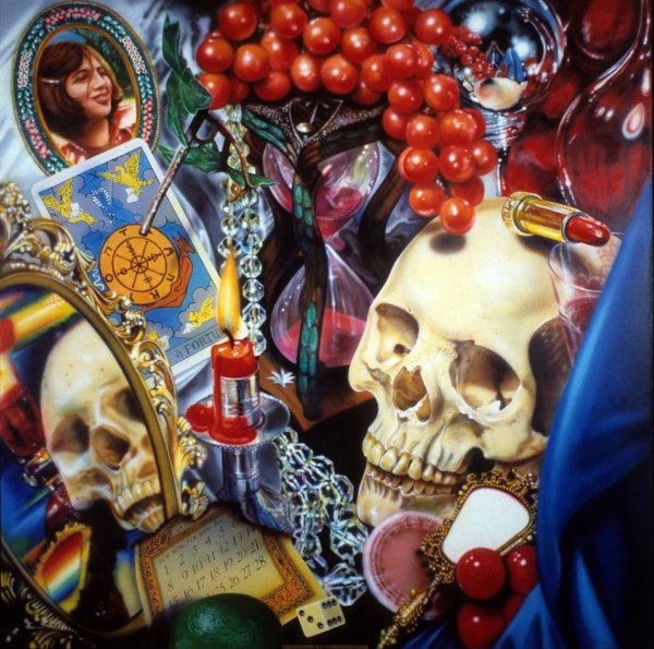 Wheel of Fortune (1977-78), acrílico y óleo sobre lienzo.