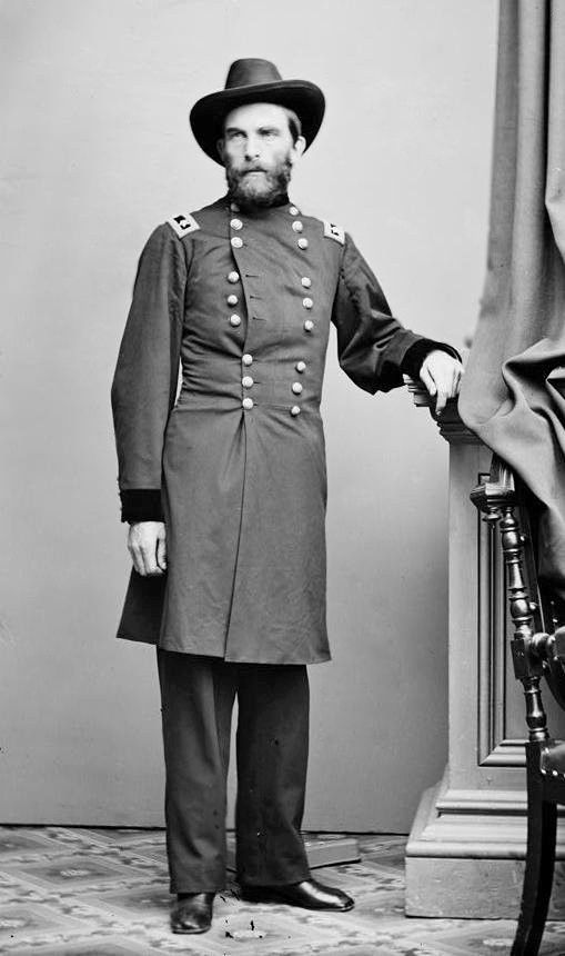 General Grenville Mellen Dodge. Foto: United States Library of Congress.