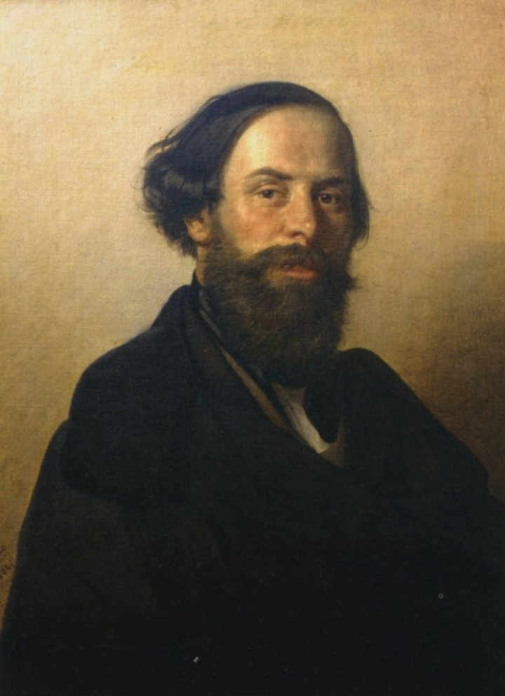 Ippolito Caffi, Autorretrato, 1840