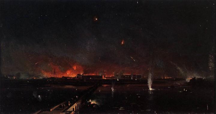 Bombardamento notturno a Marghera, 24 maggio, 1849