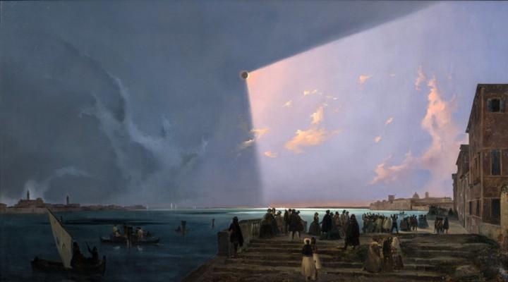 Eclissi di sole a Venezia, 6 luglio, 1842