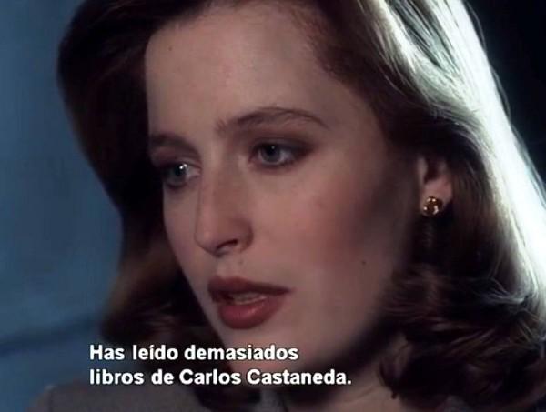 Tienes razón, Scully. Foto: El Ojo Crítico.