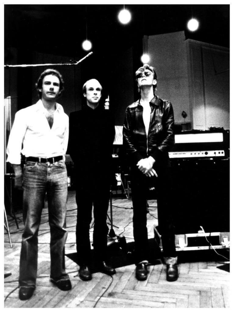 Fripp, Eno y Bowie