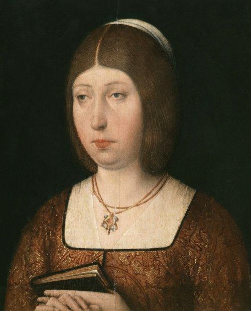 Isabel I de Castilla, retrato de autor anónimo