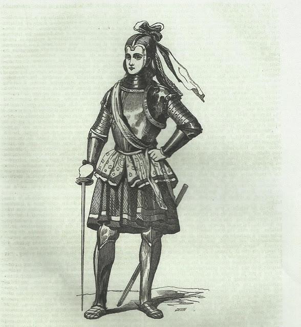 María Pérez la Varona, ilustración de la revista Semanario Pintoresco Español nº 11, de 12 de marzo de 1848.