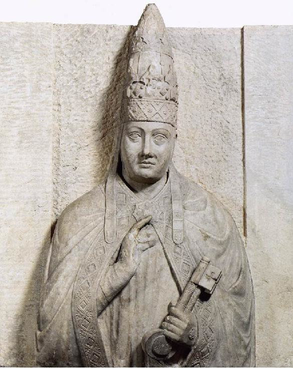 Monumento de Bonifacio VIII por Arnolfo di Cambio