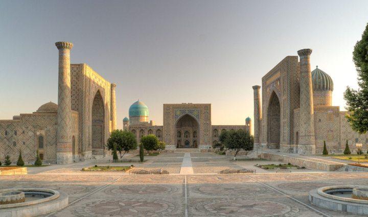 Registan, Samarkanda