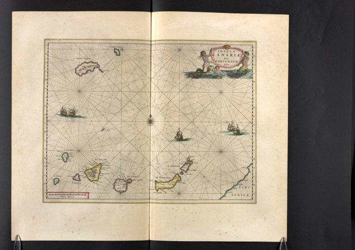 Insulae Canariae, Vol. 10, mapa 33, Joan Blaeu, 1667.