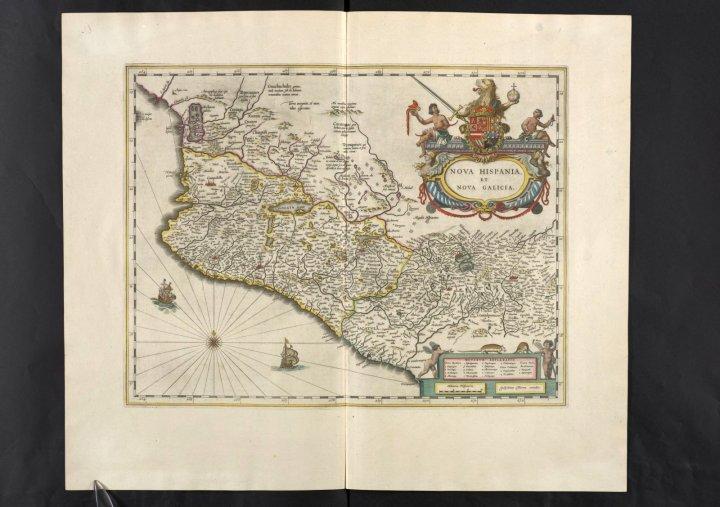 Nova Hispania (México), Vol. 12, mapa 6, Joan Blaeu, 1667.