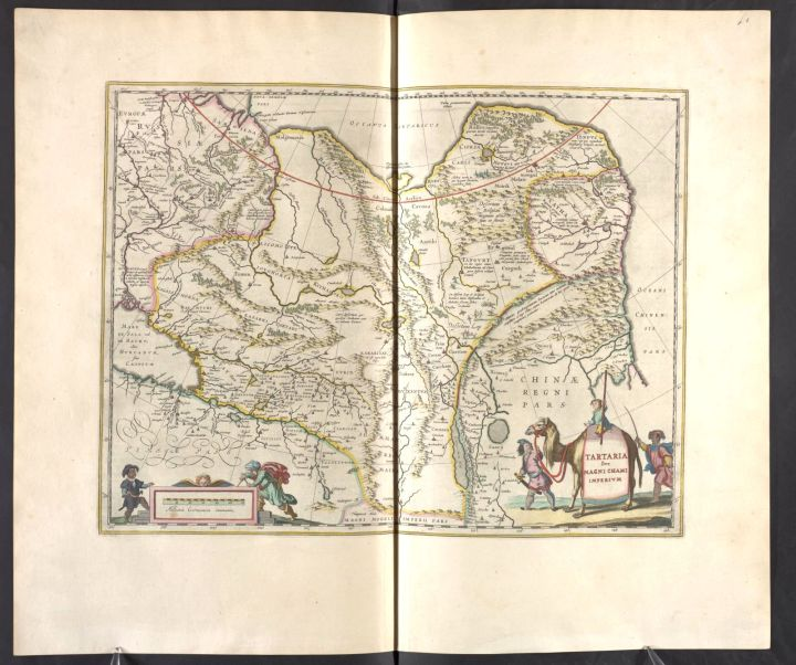 Tartaria, Vol. 11, mapa 11, Joan Blaeu, 1667.