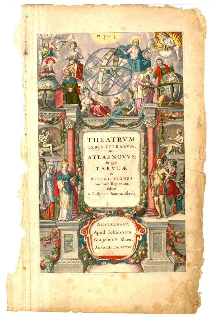 Theatrum Orbis Terrarum, sive Atlas Novus in quo Tabulæ et Descriptiones Omnium Regionum, Willem y Joan Blaeu, 1645.