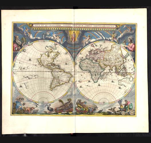 Atlas Maior, Vol. 1, mapa 1.