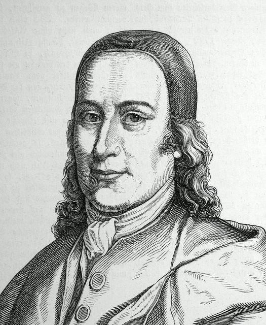 El conde Nikolaus Ludwig von Zinzendorf.